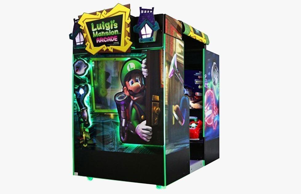 LUIGI's Mansions Arcade no SP Diversões